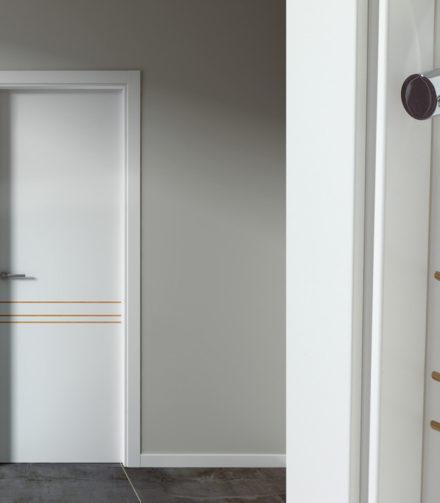 Скандинавский интерьер-межкомнатные двери