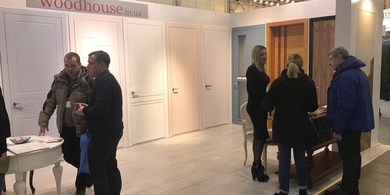 Межкомнатные Двери WoodHouse на INTERBUILDEXPO 2018